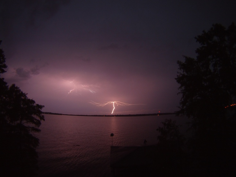 June Lightening Storm