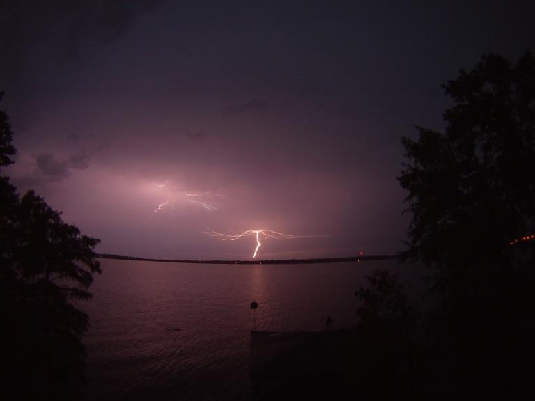 June Lightening Storm
