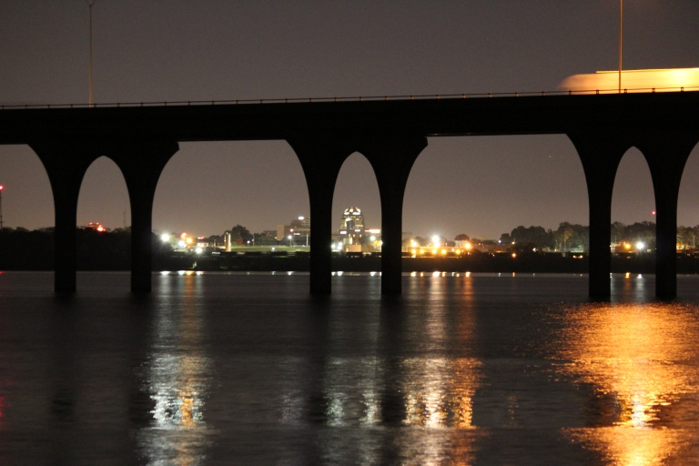 Downtown Shreveport @ Night From Cross Lake