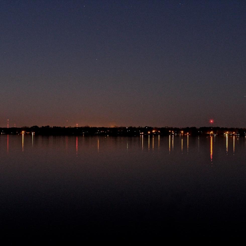Night Photography Cross Lake Shreveport Photographer Cannon T3i