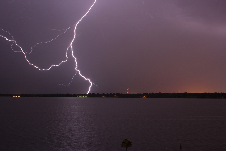 Louisiana Lightning Shreveport Photography