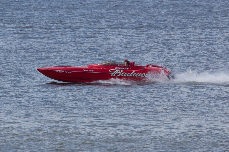 Budweiser Speed Boat - Shreveport Photographer