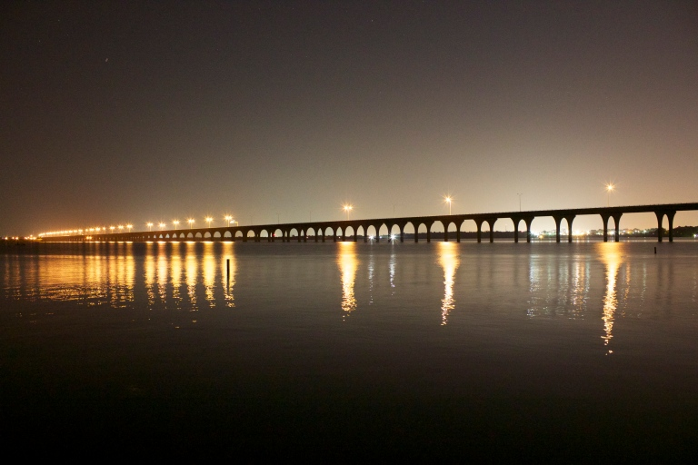 Shreveport Photographers - i220 Bridge Shreveport at Night - Cannon T3i Photography