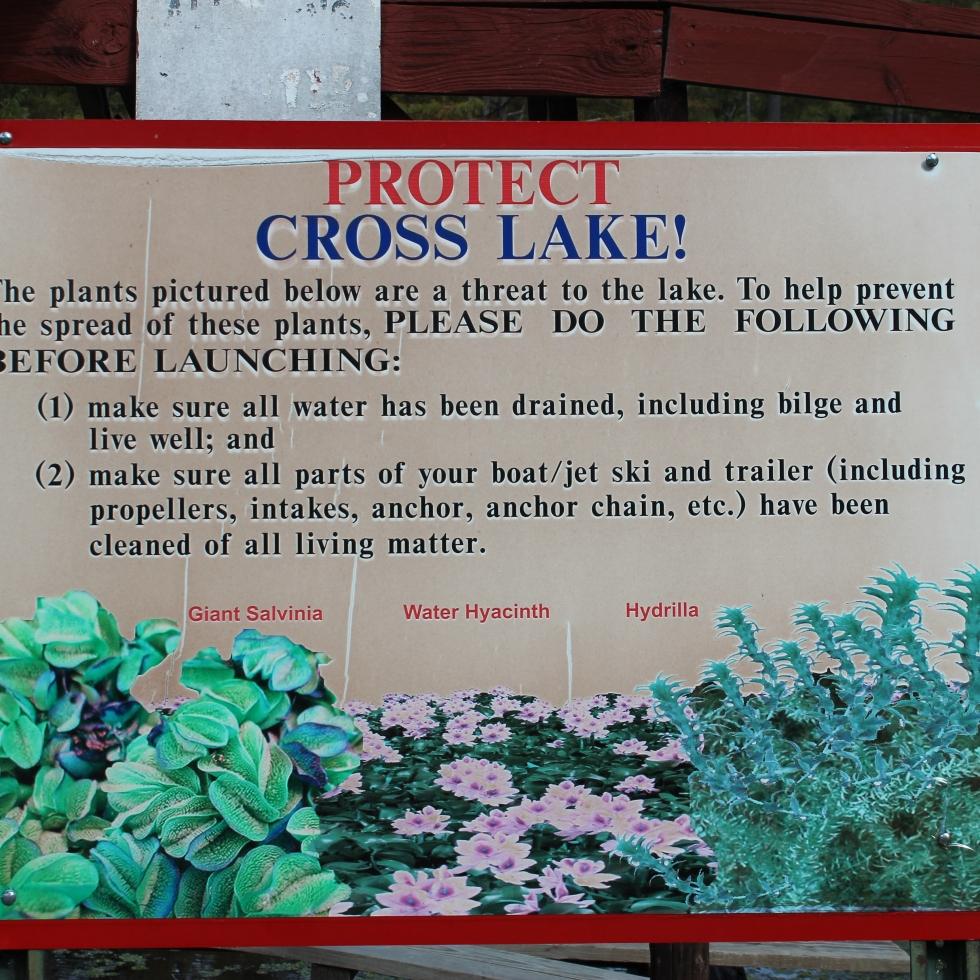 Protect Cross Lake Shreveport Rules