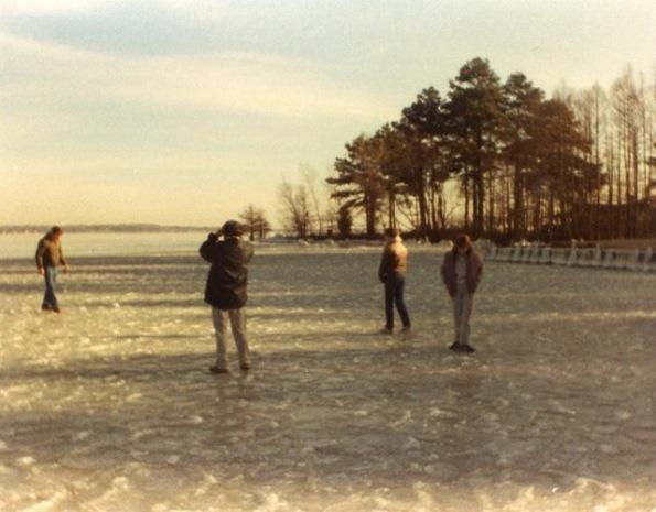 Frozen Cross Lake December 1983 - Shreveport Louisiana via Troy Roberts FB