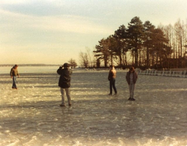 Frozen Cross Lake December 1983 - Shreveport Louisiana via Troy Roberts FB